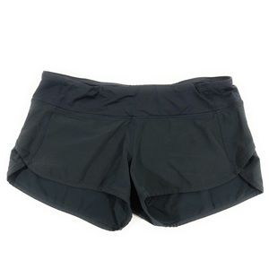 Lululemon 6 Black Run Speed Shorts